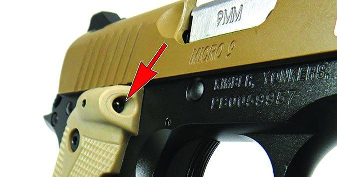 Kimber Micro 9 Desert Tan (LG)