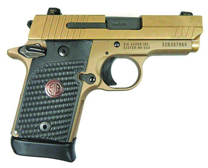 SIG Sauer P938 Emperor Scorpion 9mm Luger