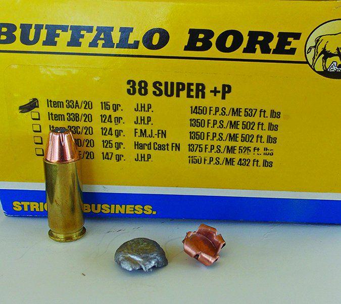 Buffalo Bore 115-grain JHP