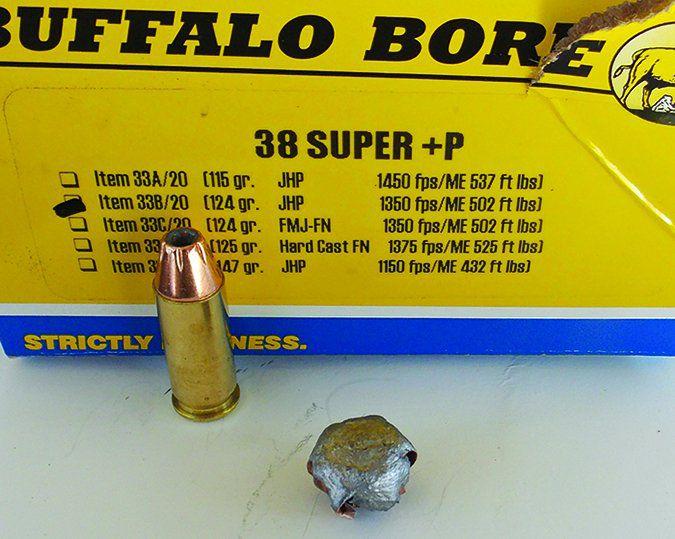 Buffalo Bore 124-grain JHP