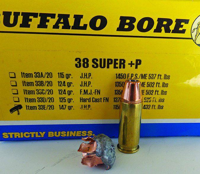 Buffalo Bore 147-grain XTP