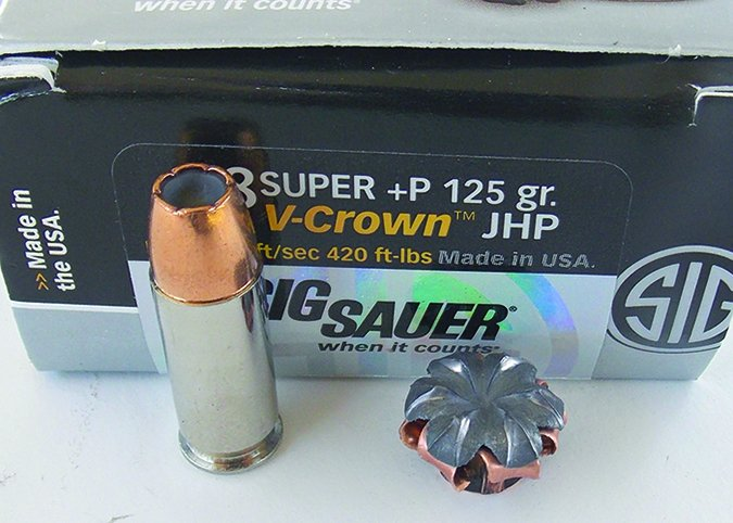 SIG Sauer Elite 38 Super 125-grain JHP
