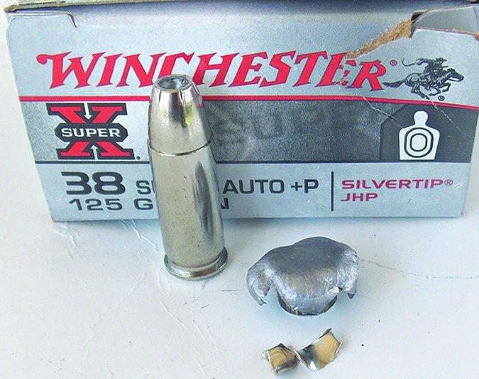 Winchester 125-grain Silvertip ammo