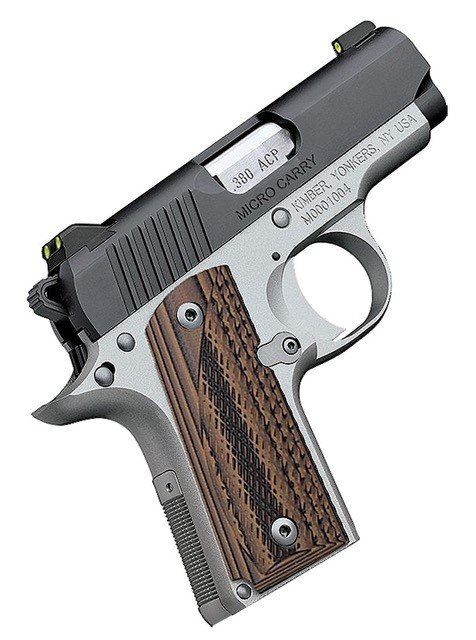 Kimber Micro Carry Advocate Brown 380 Auto