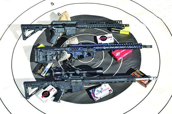 ar-10 rifles
