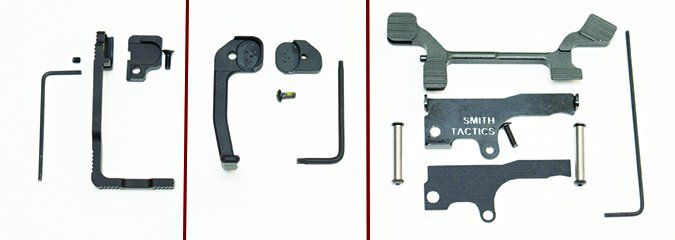 bolt release systems disassembled