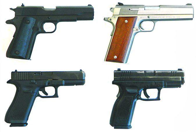 semi automatic handgun reviews