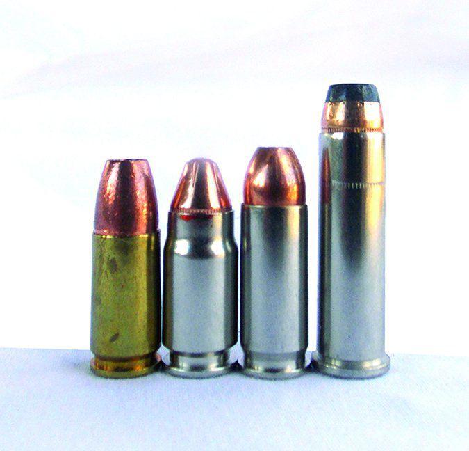cartridges for 357 pistols
