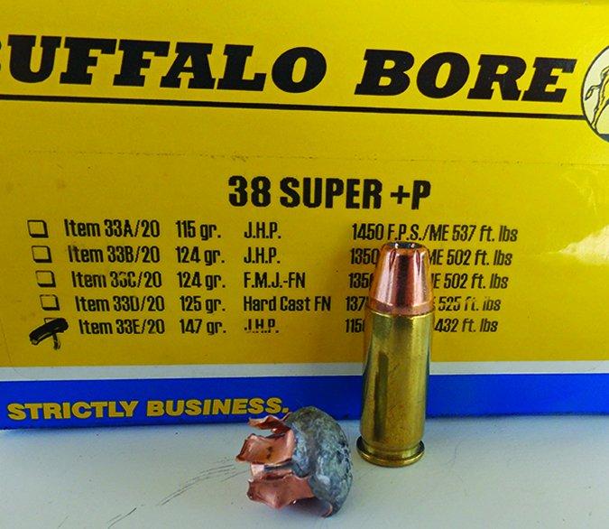 Buffalo Bore 115-grain load