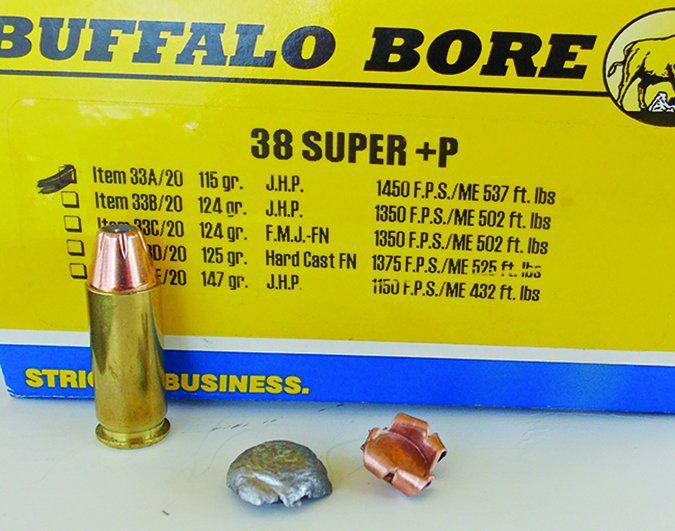 Buffalo Bore 147-grain 38 Super
