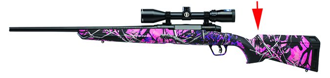Savage Axis II Compact Muddy Girl 22230 243 Winchester