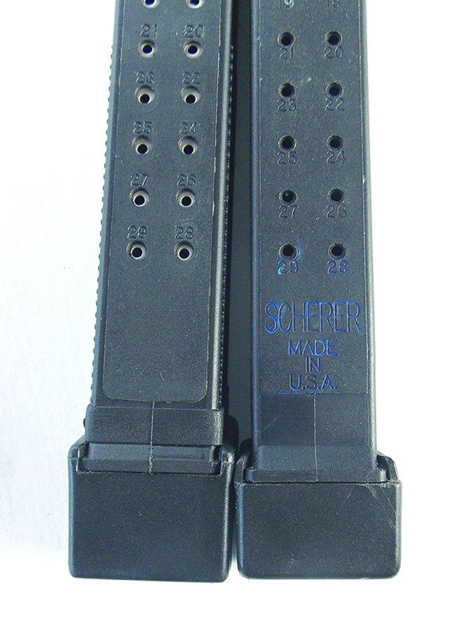 Scherer Glock 40 S&W magazine