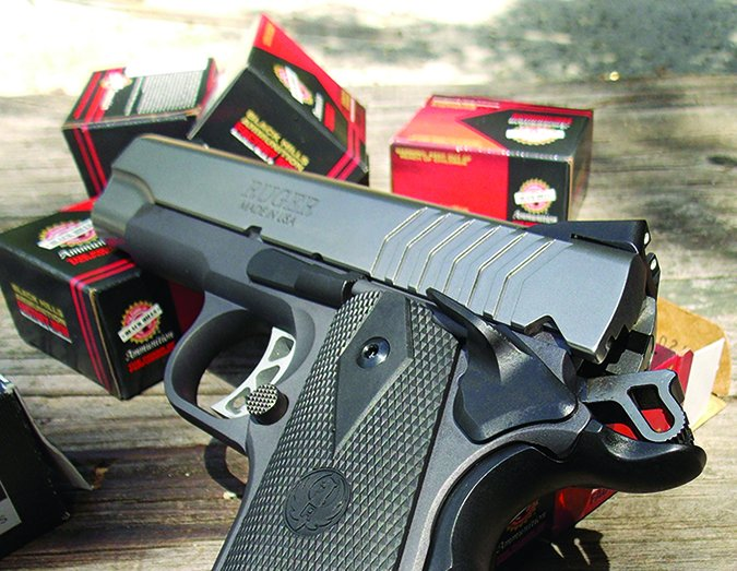 Ruger 9mm handgun