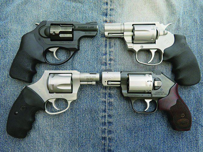 snubnose revolver pistols