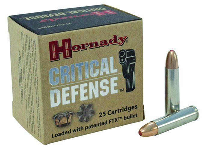 Hornady Critical Defense 30 Carbine 110-grain FTXes