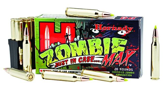 Hornady Zombie Max 223 Rem. 55-grain V-Max cartridges