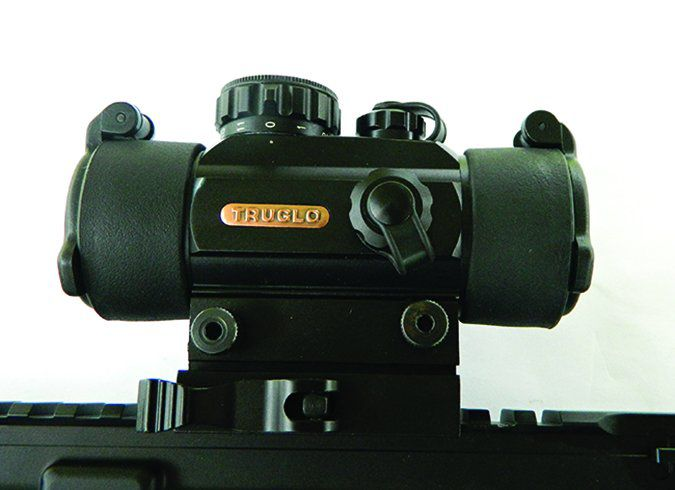 AR-15 Self Build truglo sight