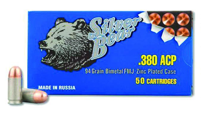 Silver Bear 380 ACP