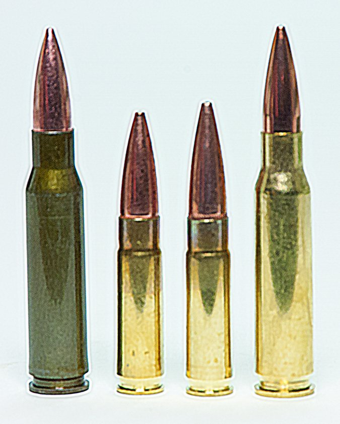 300 and 308 win ammunition