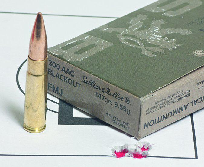 Sellier & Bellot 300 AAC Blackout ammunition