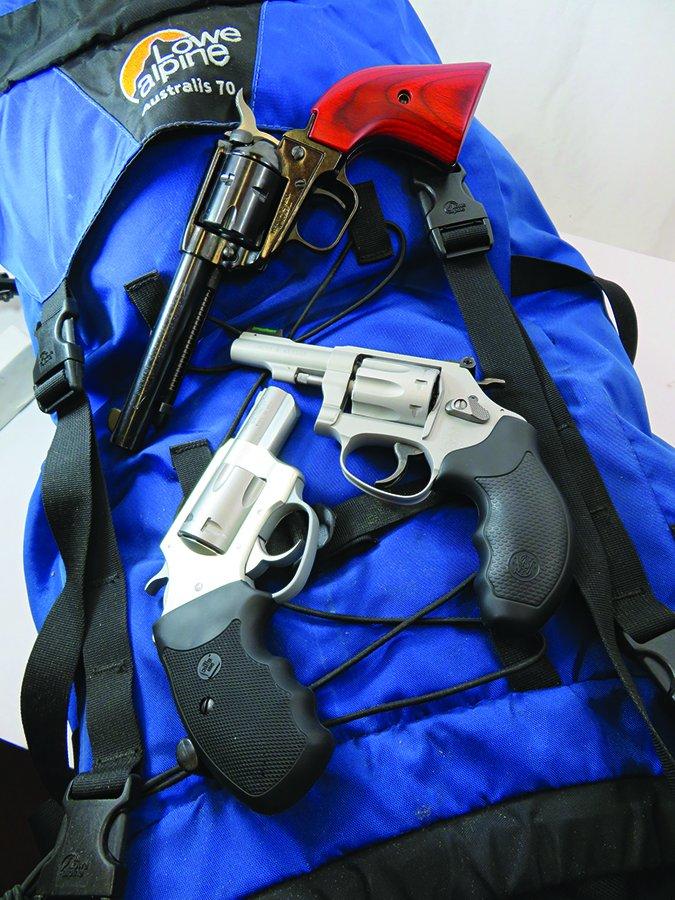 22 rimfire revolvers