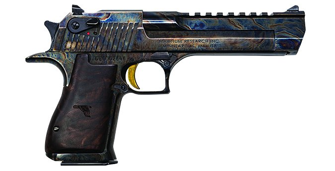 Desert Eagle case-hardened finish