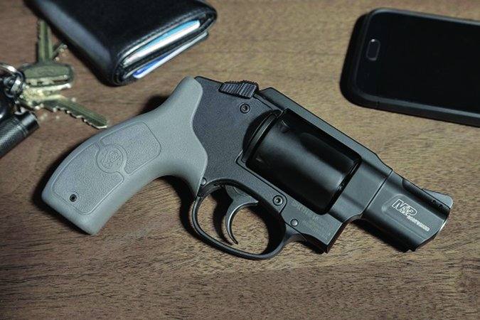 Smith & Wesson M&P Bodyguard 38 revolver