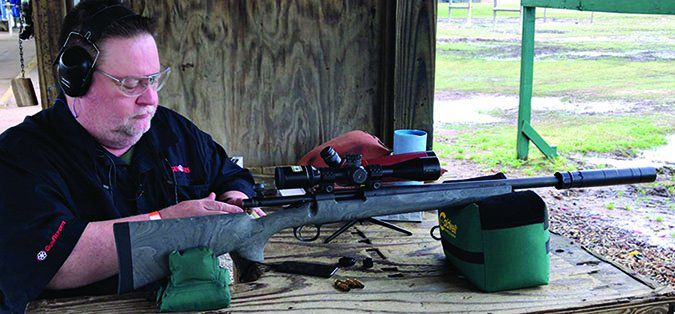 threaded barrel bolt rifles with suppressor