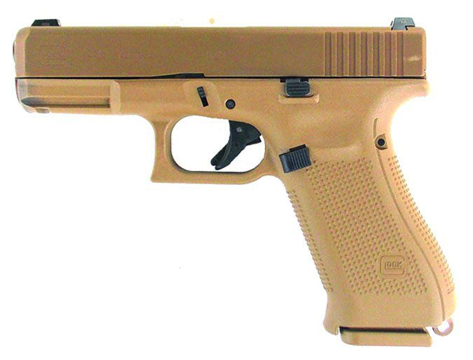 The Coyote-brown Glock 19X