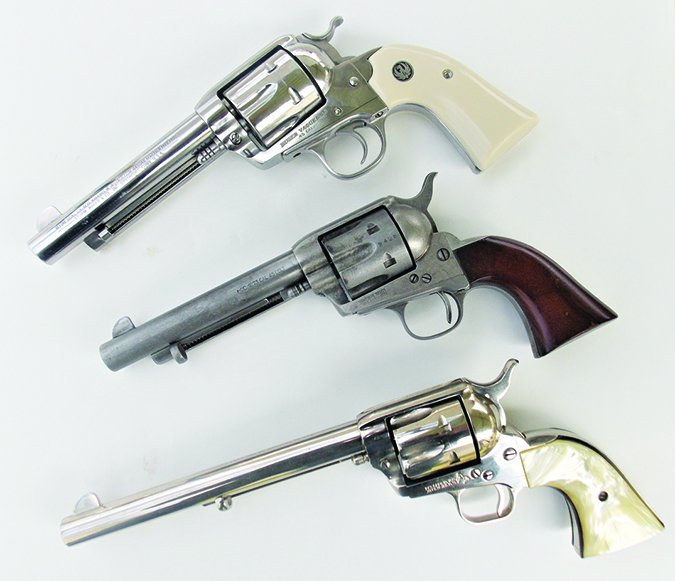 45 colt single action revolvers