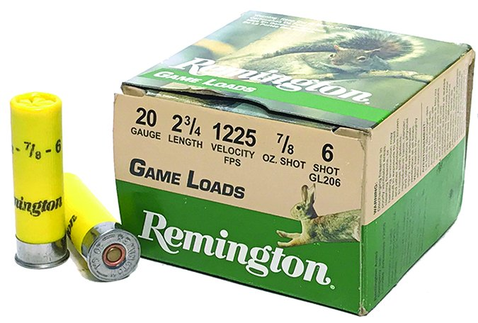 Remington Game Loads 7/8-ounce lead No. 6s