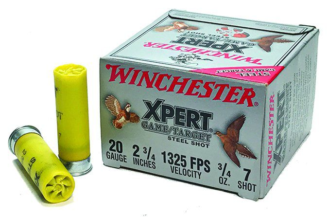 Winchester Xpert Game/Target load 3/4-ounce No. 7s