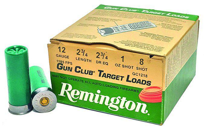 Remington Gun Club Target Loads