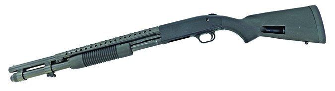 Mossberg 590 Tactical Shotgun Heat Shield SpeedFeed Synthetic Stock 50665