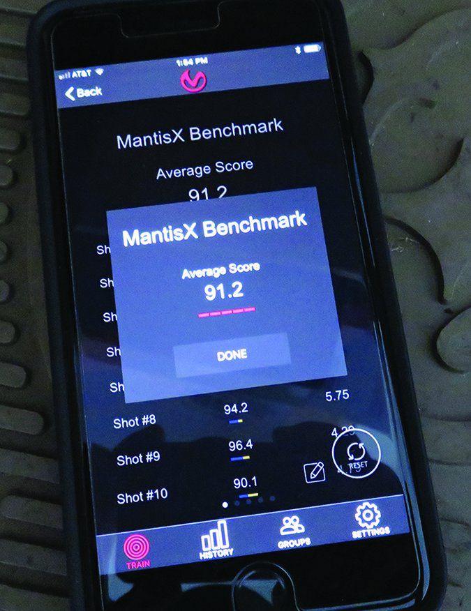 Mantis X sensor
