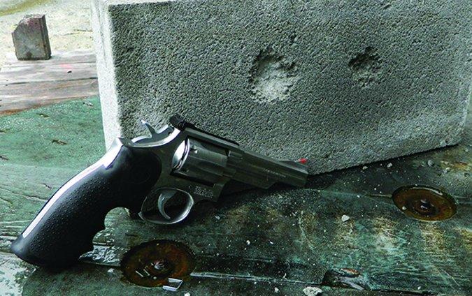 cinderblock bullet penetration