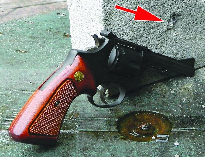 Smith & Wesson 22 LR revolver