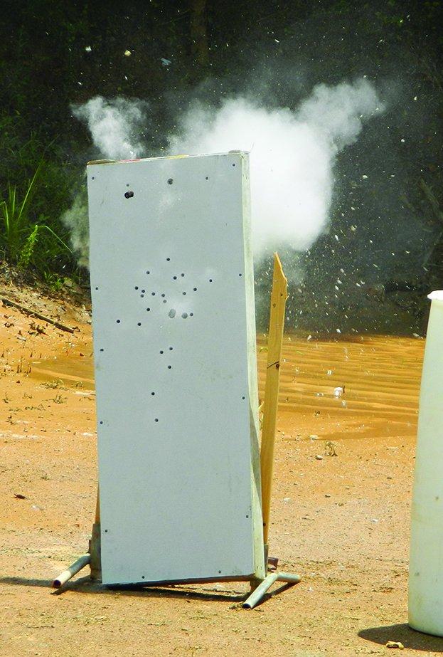 DRYWALL SHOTgun penetration