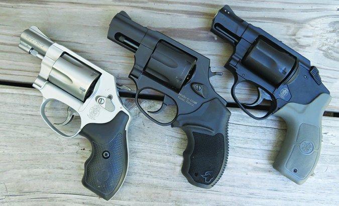 38 special snubnose revolvers