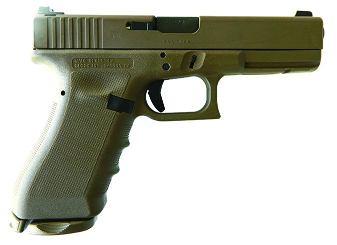 Lipsey's Glock 17RTF2 Vickers FDE 9mm Luger