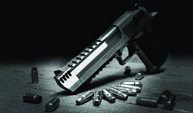 Magnum Research Desert Eagle 429 cartridge pistol