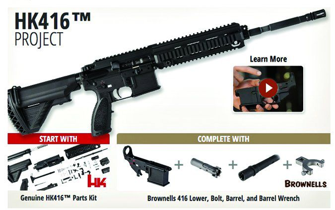 browning HK 416 Project