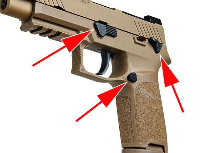 SIG P320-M17 320F-9-M17-MS  9mm Luger