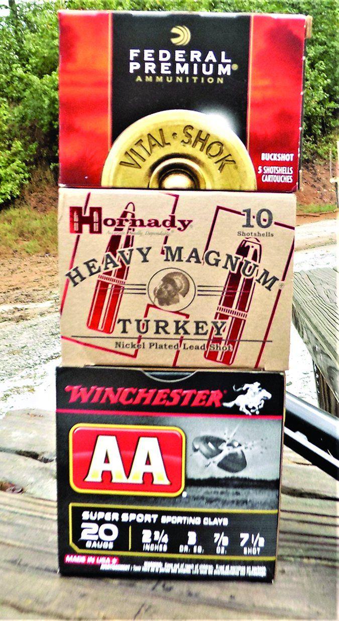 20 gauge shotgun loads