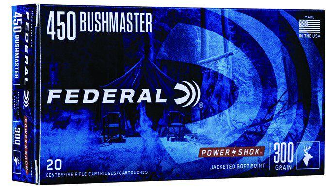 federal ammunition 450 bushmaster