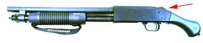 MOSSBERG 590 SHOCKWAVE MODEL 50657 20 GAUGE