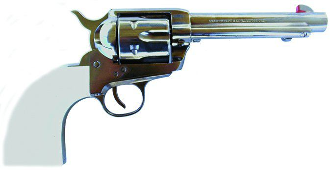 Traditions Frontier Series 1873 Barrel Nickel/White PVC SAT73-126 357 Magnum