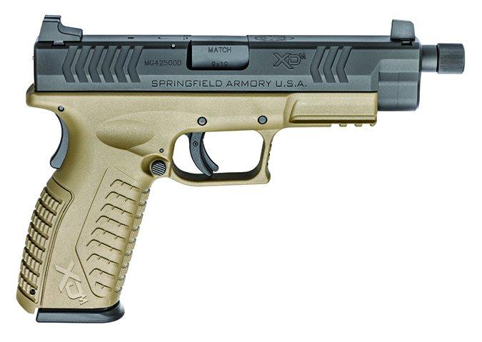 Springfield XD(M) 4.5 XDMT9459FDEHCE Threaded Barrel 9mm