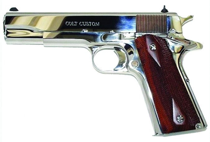 COLT BRIGHT STAINLESS GOVERNMENT MODEL O1070BSTS 45 ACP
