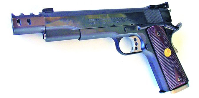 COLT GOLD CUP NATIONAL MATCH O5870A1 45 ACP